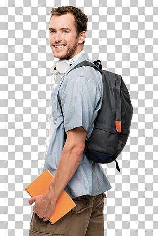 Student Backpack Shoulder School Study Skills PNG