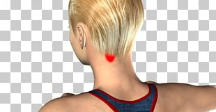 Blond Hair Coloring Pixie Cut Bangs Bob Cut PNG