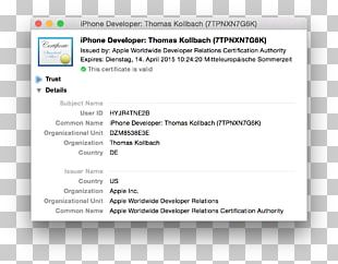 Computer Software Apple Screenshot PNG