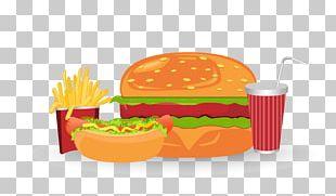 Cheeseburger Hamburger French Fries Fast Food Junk Food PNG