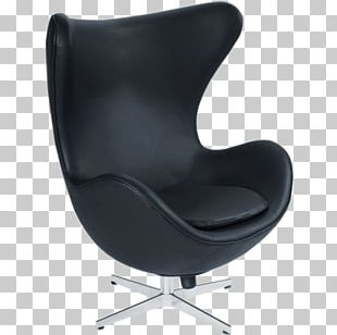 Egg Eames Lounge Chair Furniture Living Room PNG