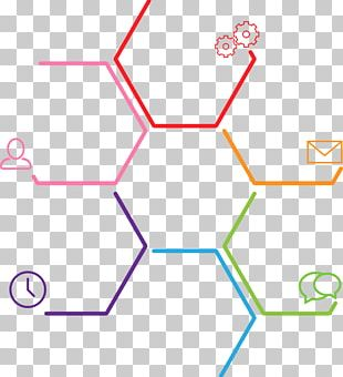 Infographic Hexagon Polygon PNG