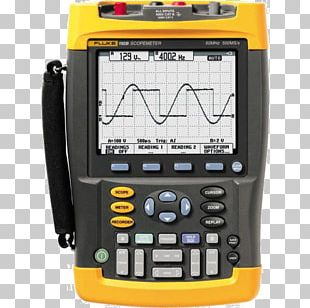 Digital Storage Oscilloscope Fluke Corporation Electronic Test Equipment Multimeter PNG