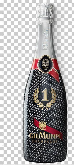 Champagne G.H. Mumm Et Cie Beer Bottle Pinot Meunier Pinot Noir PNG