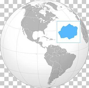 Jamaica Globe World Caribbean Sea United States PNG