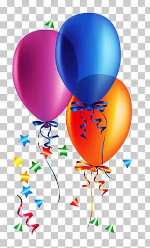 Birthday Customs And Celebrations Balloon Party PNG
