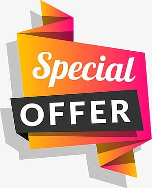 Red Offer Tag PNG