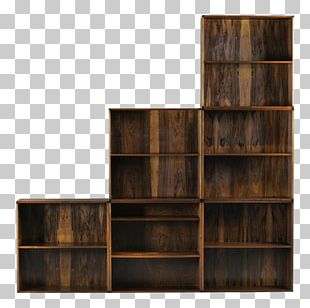 Shelf Bookcase Table Mid-century Modern Furniture PNG