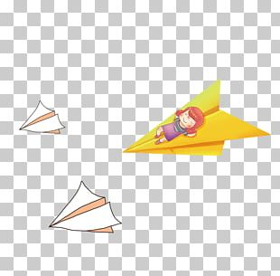Airplane Paper PNG