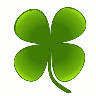 Shamrock Four-leaf Clover Saint Patricks Day PNG