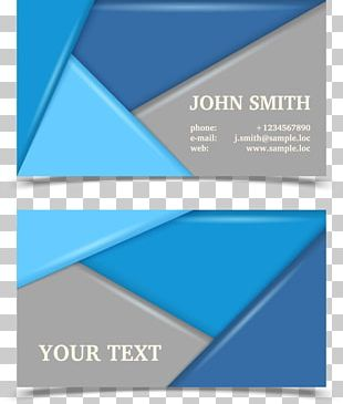 Business Card Visiting Card Flyer PNG