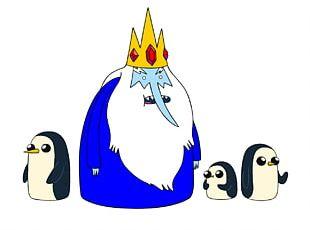 Ice King Marceline The Vampire Queen Finn The Human Antagonist Villain PNG