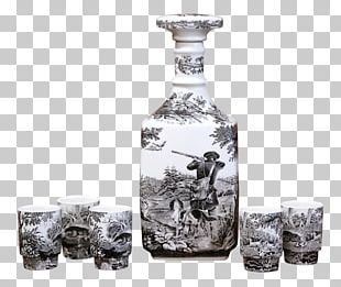 Glass Bottle Decanter Murano Glass PNG