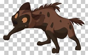 Striped Hyena Lion Spotted Hyena Drawing PNG