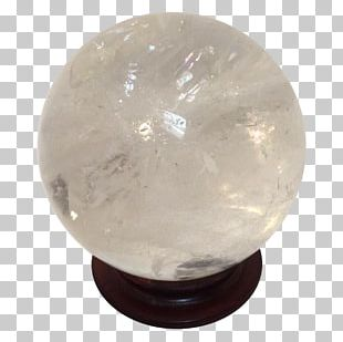 Crystal Cluster Quartz Double Terminated Crystal Sphere PNG