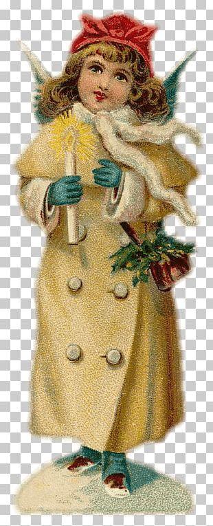 Angel Christmas Ornament Bokmärke PNG