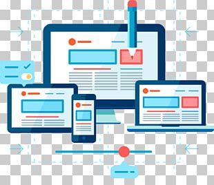 Responsive Web Design Computer Icons Flat Design Mobile Web PNG