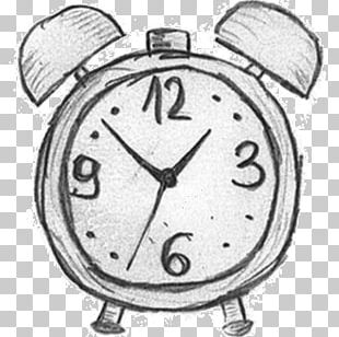 Alarm Clocks Drawing Flip Clock Sketch PNG