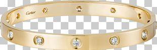 Love Bracelet Cartier Jewellery Earring PNG