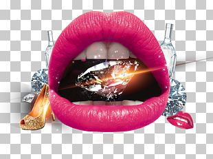 Lip Diamond Mouth PNG