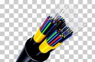 Optical Fiber Cable Core Optics PNG