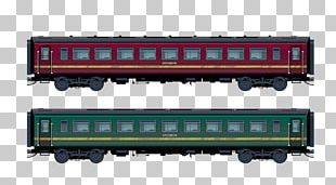 Train Passenger Car Rail Transport Railroad Car PNG
