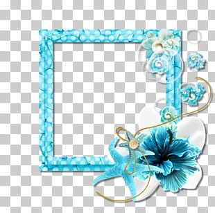 Turquoise Frames Body Jewellery PNG