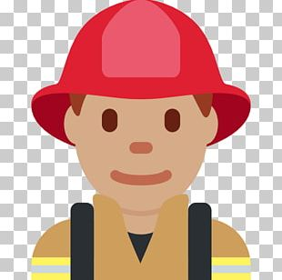 Emoji Human Skin Color Homo Sapiens Firefighter Fitzpatrick Scale PNG