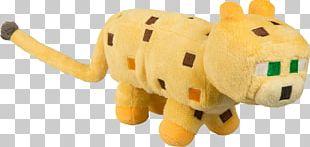 Minecraft Ocelot Stuffed Animals & Cuddly Toys Plush Jinx PNG