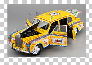Rolls-Royce Phantom VII Model Car PNG