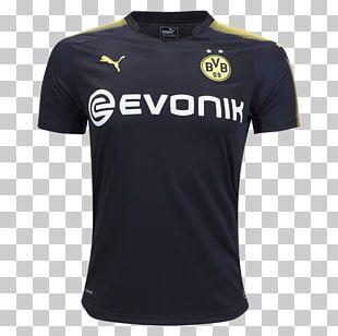 Borussia Dortmund Bundesliga Third Jersey Kit PNG