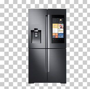 Internet Refrigerator Samsung Door Home Appliance PNG