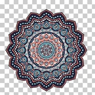 Islam Ornament Mandala Motif PNG