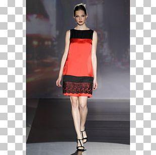 Fashion Show Little Black Dress Model PNG