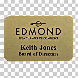 Name Plates & Tags Engraving Name Tag Gold Rectangle PNG