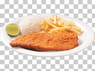 French Fries Schnitzel Cali Fried Chicken Veal Milanese PNG