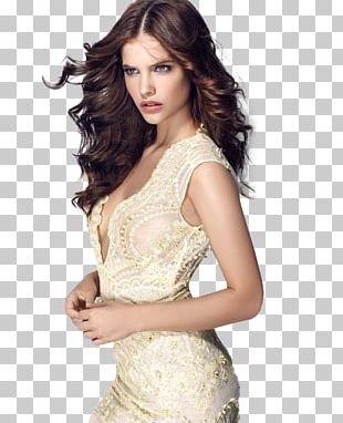 Barbara Palvin Model Fashion Dress PNG