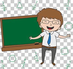 Teachers Day Cartoon PNG