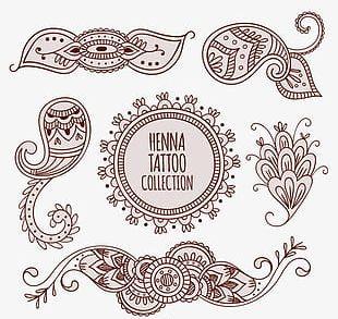 Decoration Henna Tattoo PNG