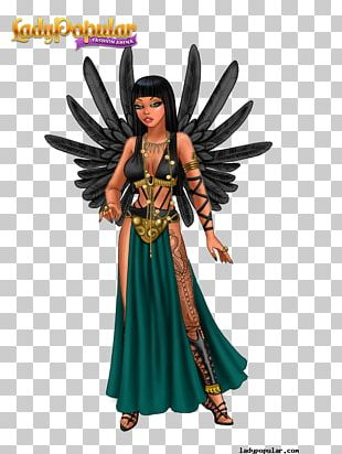 Lady Popular Fairy Fashion Costume Design Character PNG