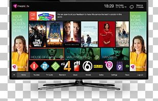 IPTV Television Set NetUP Over-the-top Media Services PNG