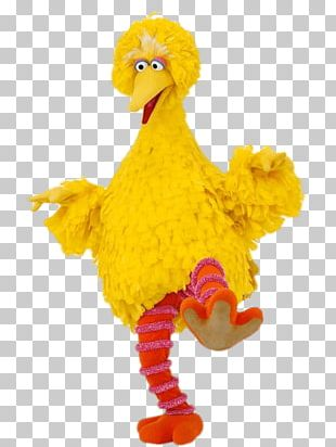 Sesame Street Big Bird On One Leg PNG
