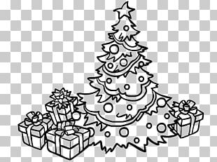 Christmas Tree Spruce Snowman Christmas Ornament PNG