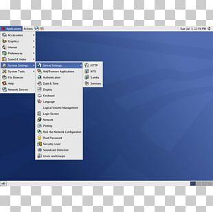 Red Hat Enterprise Linux Computer Program CentOS Computer Servers PNG