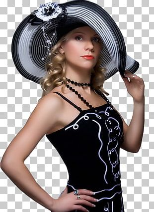 Woman With A Hat PNG