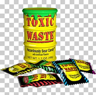 Gummi Candy Sour Sanding Cotton Candy Toxic Waste PNG