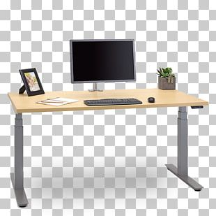 Standing Desk Table Sit-stand Desk Furniture PNG