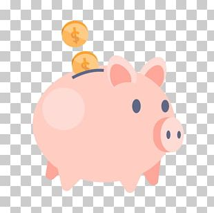 Piggy Bank Money Saving Finance PNG