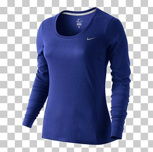 T-shirt Nike Dry Fit Sleeve Top PNG