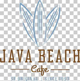 Cafe Coffee Logo Java Beach Café PNG